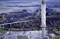Deutschlands höchste Aussichtsplattform mit Technik von Hübler